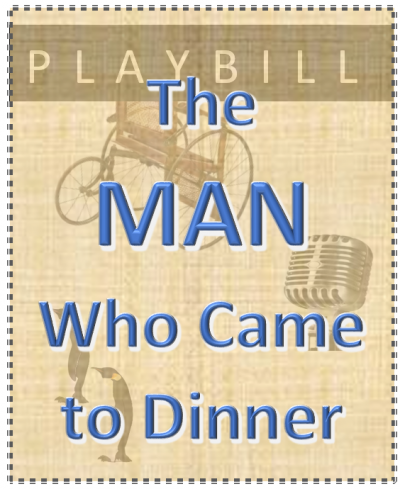 The man who came to dinner playbill image