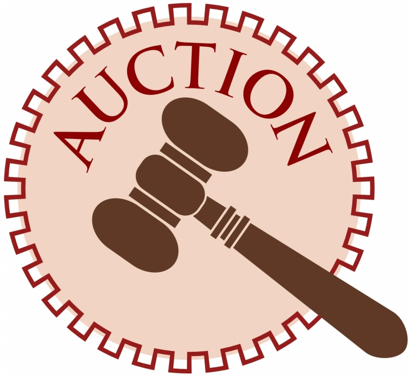 clipart of auction gavel